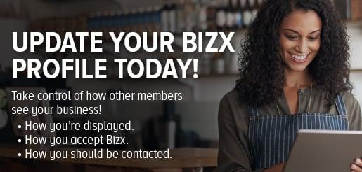 Update You BizX Profile on the BizX Barter Platform