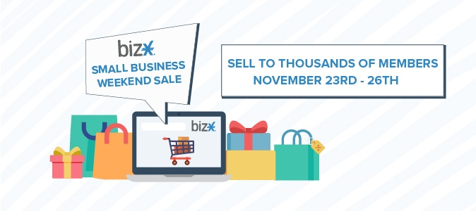 Small Business Weekend Sale LP Banner v3
